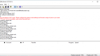 Photo of FileZilla Server: Configuration of this FTP and FTPES server for Windows