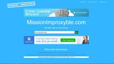 Photo of MissionImproxyble: proxy to unblock sites and browse anonymously