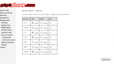 Photo of NuCom NU-GAN5: Pepephone ADSL ADSL2 + router configuration manual