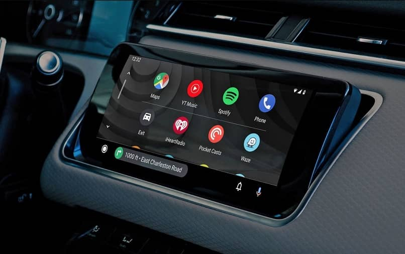 touch panel android auto